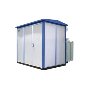 风电机组箱式变电站